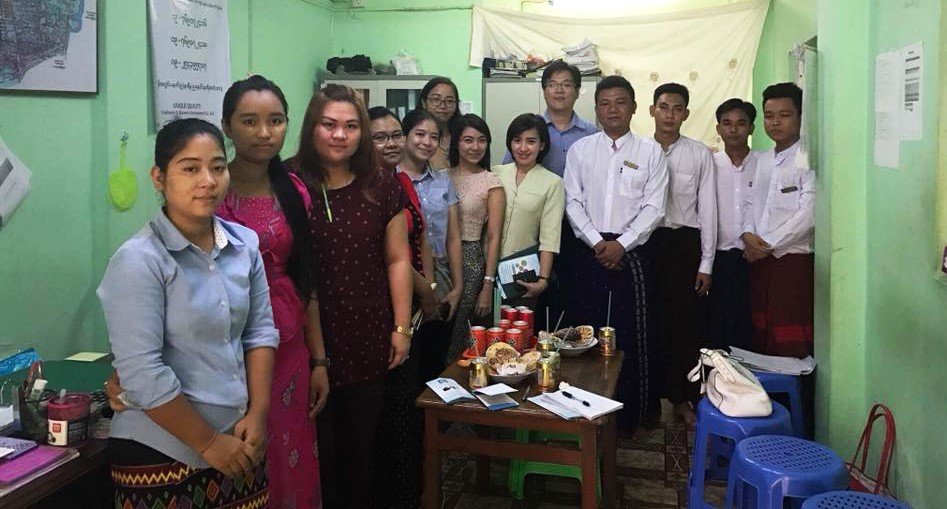 Supporting Excursion trip for Master of Banking and Finance Program (Yangon University of Economics)